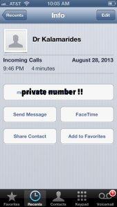 dr k call