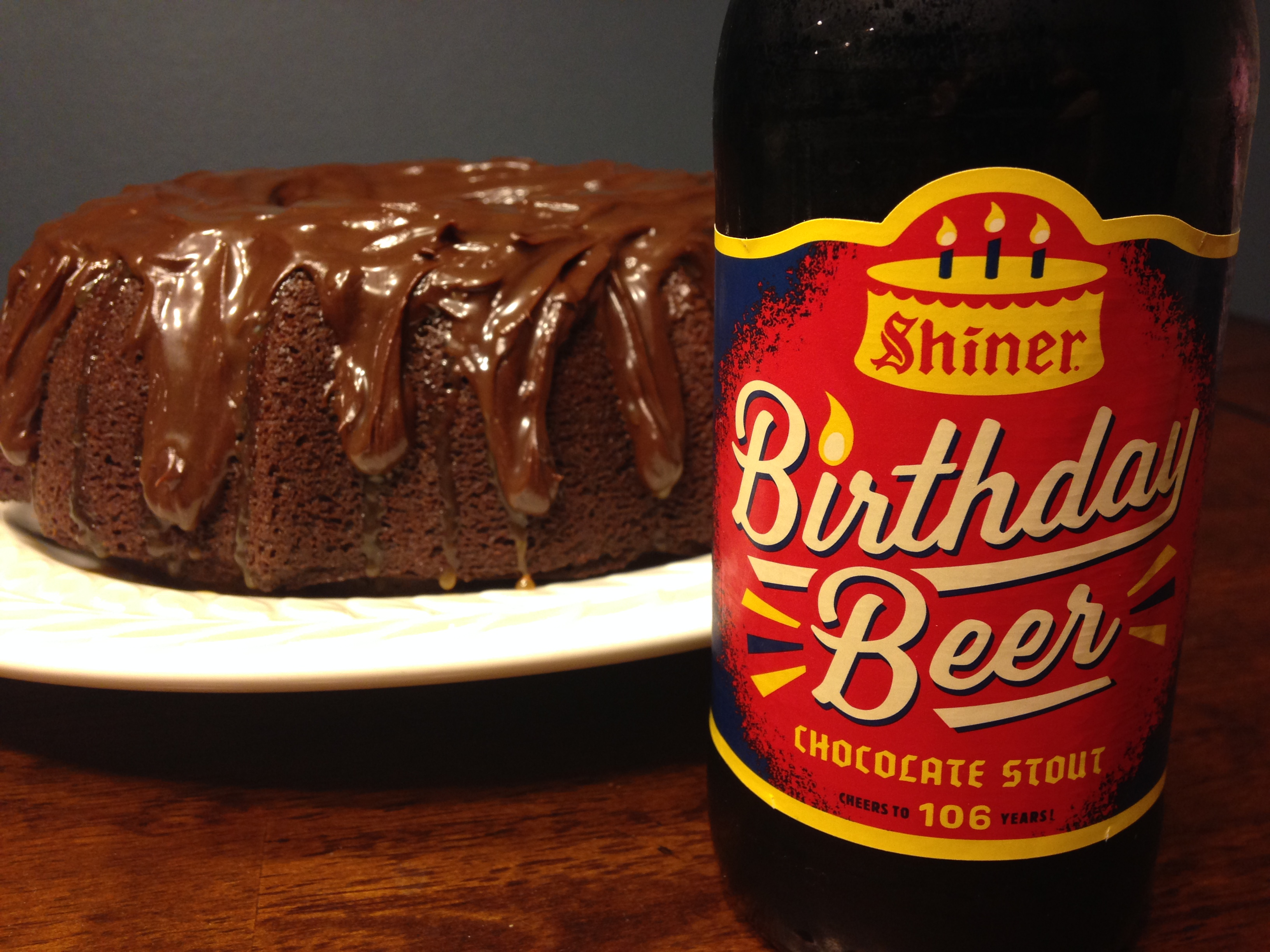 Shiner Birthday Beer Chocolate Cake Vita Dulcis