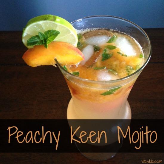 peachy keen mojito